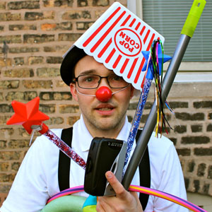 Andy Knuth at Clown Cabaret at Logan/Fringe Arts Space (Capital Fringe) in Washington DC June 13 2016