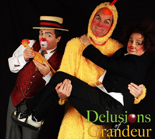 Delusions of Grandeur featuring Matthew Pauli, Rich Potter and Karen Beriss.