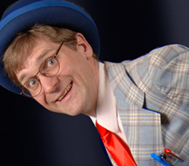 Rich Potter as Bert the Nerd, Clown Cabaret